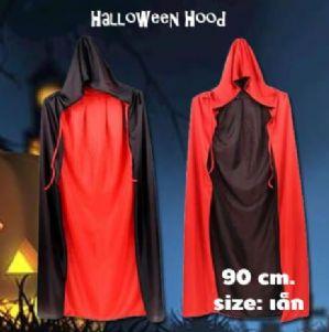 ผ้าครุมฮาโลวีนมีฮู้ด Halloween พ่อมด แม่มด แดร็กคูล่า 90 cm.